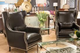 kingston leather chair bernhardt interiors luxe home philadelphia