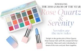 2016 color of the year rose quartz serenity pantone color of the year sephora