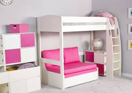 High Bed Frame Unos High Sleeper Frame With Sofa Bed Only