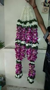 indian wedding garland price orchid wedding garlands maharaja haar prashant florist mumbai