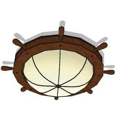 Nautical Ceiling Light Nautical Ceiling Lights 01 3d Model Formfonts 3d Models Textures