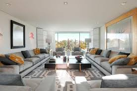 long living room creative furniture arrangement for long living room layout with