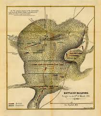 Nc Maps Battle Of Guilford Courthouse 1781 Battlemaps Us