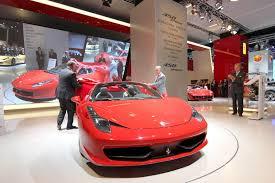 Ferrari 458 V8 - iaa 2011 ferrari 458 spider debuts along with new u201ctailor made