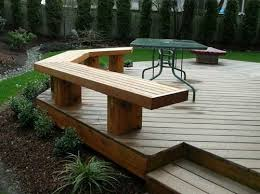 Free Simple Wood Bench Plans by Deck Benches Deck Benches That Look Great Deck Designs And