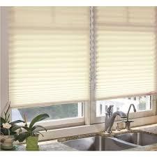 perfect lift window treatment ecru 1 in light filtering cordless