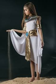 Halloween Costumes Girls Amazon Girls Egyptian Greek Queen Goddess Cleopatra Toga Fancy Dress