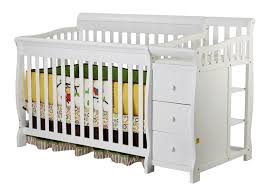4 In 1 Convertible Crib With Changing Table On Me 4 In 1 Brody Convertible Crib With Changer
