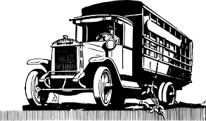 Vintage Ford Truck Art - truck clipart