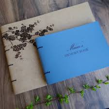 leather memory book personalised leather memory book album by artbox