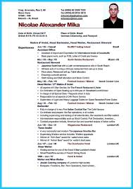 free bartender resume templates being a bartender is a of some those make the