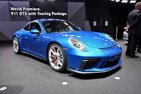 porsche gtr 2017 porsche u0027s new 911 gt3 touring is all the fierce with less of the flash