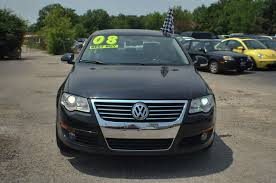 2008 volkswagen passat black used sports car sedan sale
