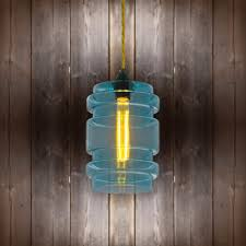 Glass Cylinder Pendant Light Glass Cylinder Pendant Light Light Gold Twisted Braided Clb