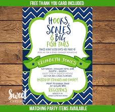 fishing themed baby shower invitation for baby shower beautiful fishing themed baby shower