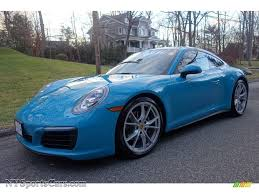 porsche chalk 2017 porsche 911 carrera 4 coupe in miami blue 106232
