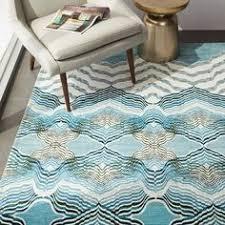mid century heathered basketweave wool rug steel 499 west