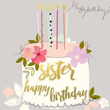 happy birthday sister cards write name on birthday cards for