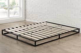 bed frames platform bed vs box spring comfort metal platform bed