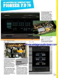 lade laser pioneer p d70 vintage audio laser