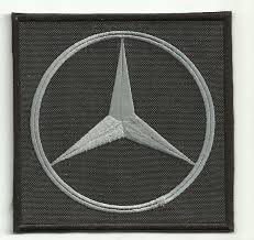 patch embroidery logo mercedes benz 7 5cm x 7 5cm los parches