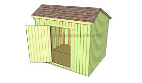 how to build a saltbox shed roof howtospecialist how to build