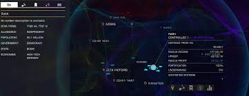 Galaxy Map Galaxy Map Display And Other User Interface Design Choices For