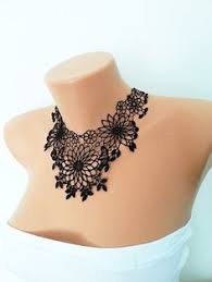 lace accessories gorgeous tatted necklace handmade jewelry jewellery fiber