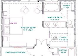 House With 2 Master Bedrooms Master Bedroom Addition Floor Plans With Fireplace Free Bathroom