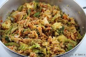 cuisiner un chou vert recette chou vert à la tomate la cuisine familiale un plat