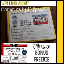 writing about community helpers momgineer