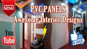 how to make home more beautiful by pvc panels quick u0026 easy