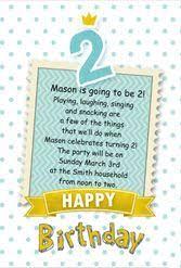 83 best birthday invitations online images on pinterest