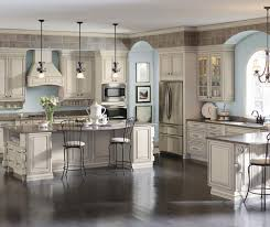 Traditional Kitchens With White Cabinets - cream cabinets with glaze diamond cabinetry
