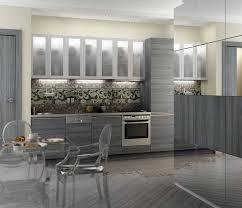 cuisine bois gris moderne cuisine blanche et grise 30 designs modernes et élégants