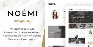 lifestyle design blogs noemi lifestyle fashion blog by px lab themeforest