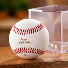 Baseball Wedding Ring by Personalized Leather Baseball Ring Bearer U0027s Gifts Novelty