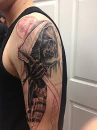 wicked grim reaper tattoo design creativefan