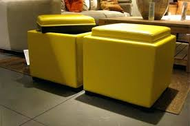 yellow storage ottoman ikea u2014 home ideas collection yellow