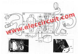 how emergency light works automatic led emergency light circuit wiring diagram components
