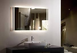 backlit bathroom vanity mirror backlit vanity mirror top bathroom nice backlit bathroom mirror