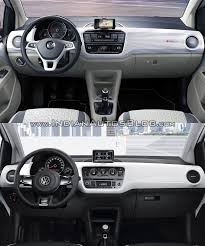 volkswagen tsi 2016 2016 vw up dashboard old vs new indian autos blog