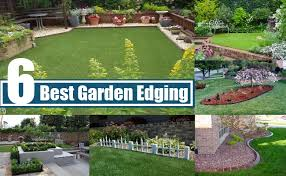 Garden Edge Ideas 6 Best Garden Edging Ideas Tips For Creative Garden Edging Ideas