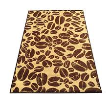 Rubber Backed Kitchen Rugs Amazon Com Famous Coffee Beans Beige Non Slip Kitchen Rug Non