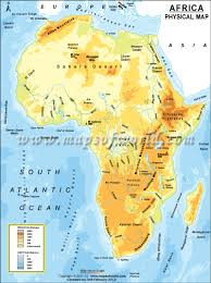 tunisia physical map geography africa special