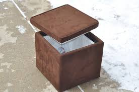 Ottoman Cooler Objects Ronin Wood