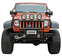 jeep bumpers olympic 4x4 products bumpers front bumpers 2007 2016 jk