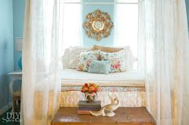 Diy Decorating Blogs Eclectic Guest Bedroom Ideas Diy Show Off Diy Decorating And