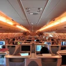 the best seats in business class on emirates u0027 airbus a380s