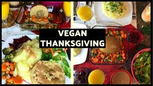 vegan thanksgiving dinner feast